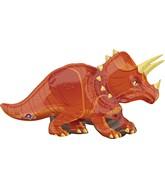 """42"""" Jumbo Triceratops Balloon Dinosaur"""