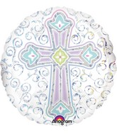 "18"" Radiant Cross Balloon"