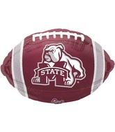 "17"" Mississippi State Balloon Collegiate"