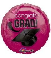 """18"""" Congrats Grad Balloon Berry"""