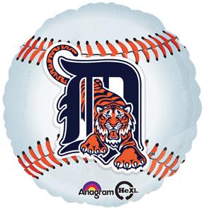 "18"" MLB Detroit Tigers Baseball Balloon"
