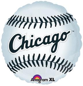 "18"" MLB Chicago White Sox Baseball Balloon"