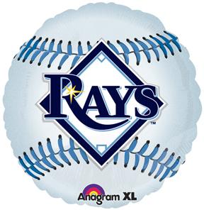"18"" MLB Tampa Bay Rays Baseball Balloon"
