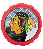 """18"""" Chicago Blackhawks NHL Mylar Balloon"""