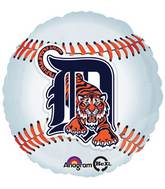 "18"" MLB Detroit Tigers Baseball Balloon"