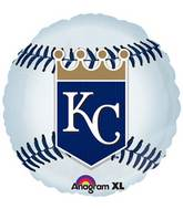 "18"" MLB Kansas City Royals Baseball Balloon"