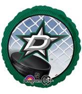 "18"" Dallas Stars NHL Mylar Balloon"