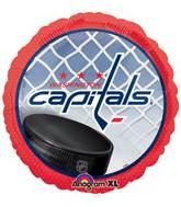 """18"""" NHL Washington Capitals Mylar Balloon"""