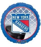 "18"" New York Rangers NHL Mylar Balloon"