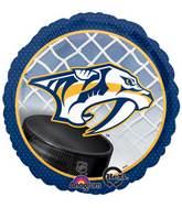 """18"""" NHL Nashville Predators Mylar Balloon"""