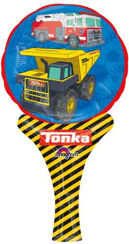 "12"" Inflate-a-Fun Balloon Tonka Balloon Packaged"