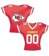 """24"""" Balloon Kansas City Chiefs Jersey"""