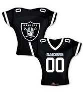 """24"""" Balloon Oakland Raiders Jersey"""