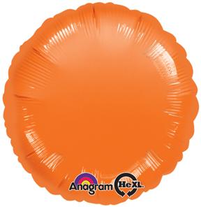 """18"""" Orange Circle Packaged"""