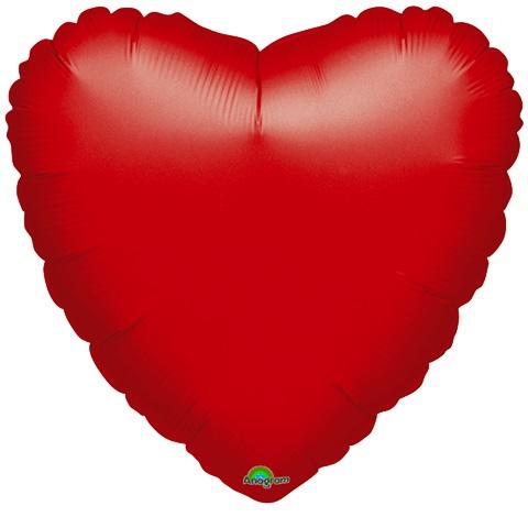 "18"" Anagram Brand Red Heart"