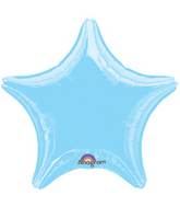 "18"" Pastel Blue Star"