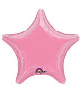 "18"" Metallic Pink Star Foil Balloon"