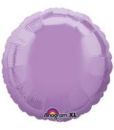 "18"" Pearl Lavender Decorator Circle"