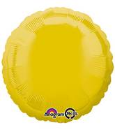 "18"" Yellow Decorator Circle"