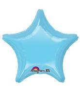 "18"" Iridescent Pearl Lite Blue Decorator Star"