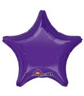 "18"" Quartz Purple Decorator Star"