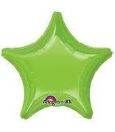 "18"" Iridescent Lime Green Decorator Star"