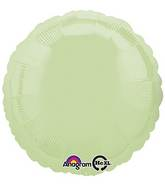 "18"" Leaf Green Decorator Circle"