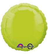 "18"" Kiwi Green Decorator Circle"