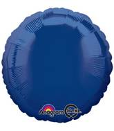 "18"" Navy Blue Decorator Circle"