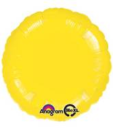 "18"" Metallic Yellow Circle"