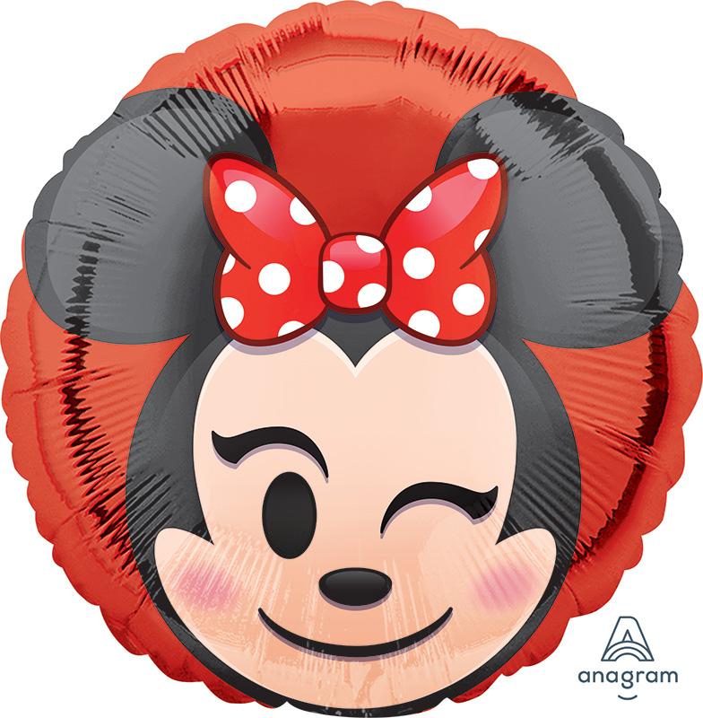"18"" Minnie Mouse Emoji Balloon"