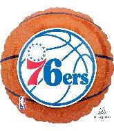 "18"" Philadelphia 76ers Balloon"