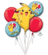 Bouquet Pokemon Balloon