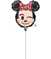"9"" Minnie Mouse Emoji Balloon"
