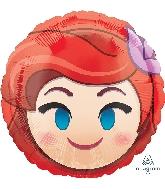 "18"" Ariel Emoji Balloon"