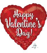 """28"""" Valentine Sparkle Balloon"""