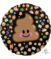 """18"""" LOL Emoticon Balloon Poop"""