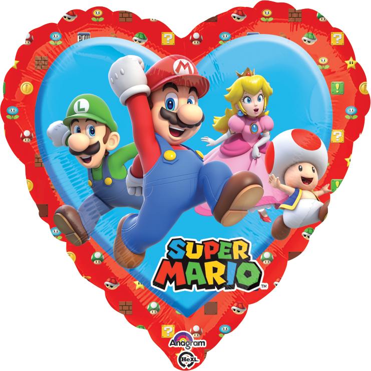 "18"" Mario - Love Balloon"