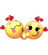 "36"" Emoticons in Love Balloon"