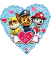 "18"" Paw Patrol Love - Boy Balloon"