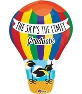 "23"" Junior Shape Sky's the Limit Balloon"