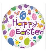 "18"" Happy Easter Eggs Balloon"