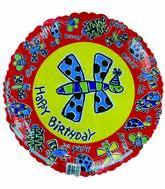 "18"" Happy Birthday Party Bugs"