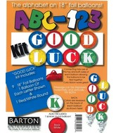 "18"" ABC-123 Kit ""Good Luck"" Multi-coloured"