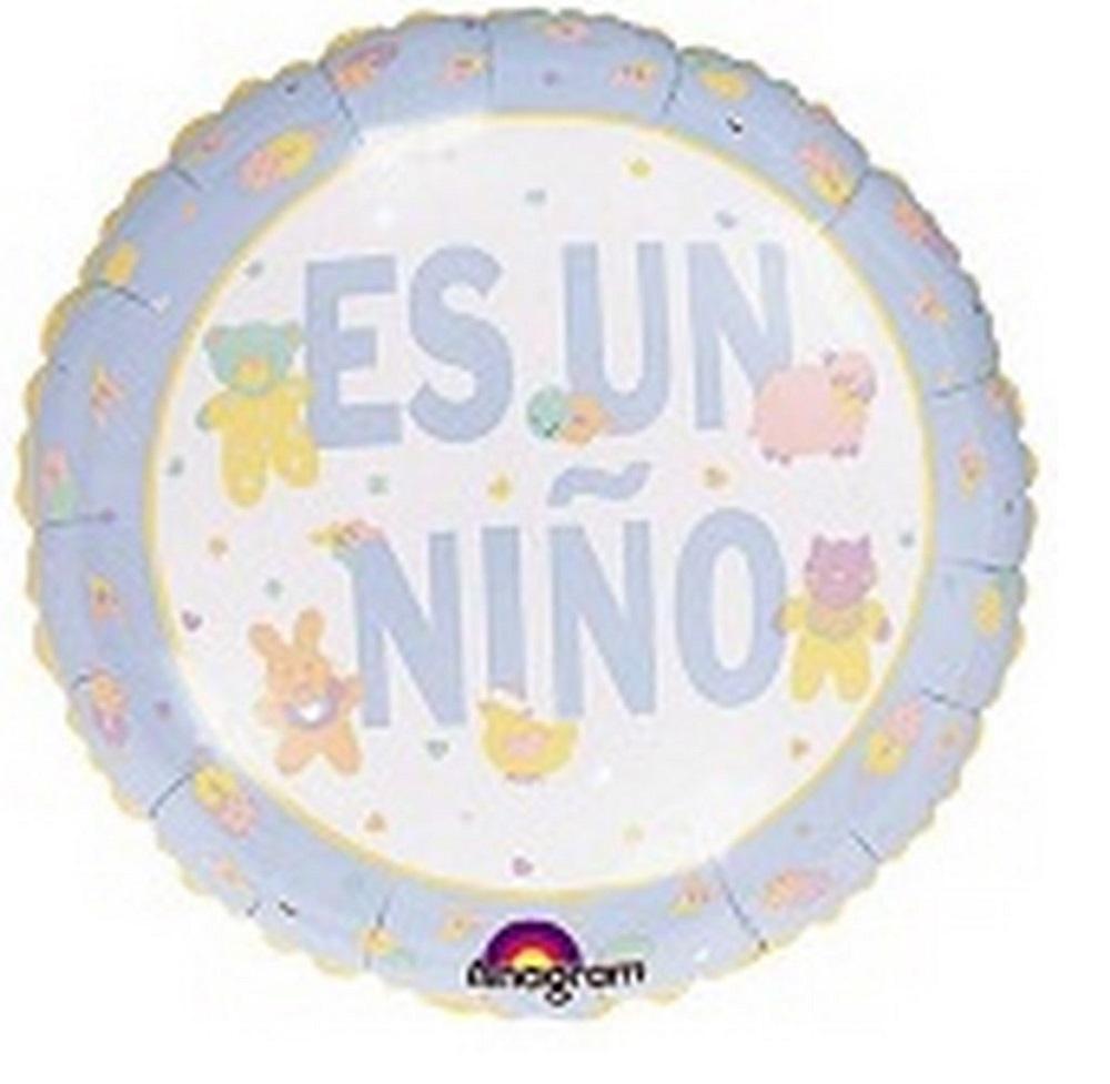 """9"""" Airfill Pastel Animal Es Un Nino"""