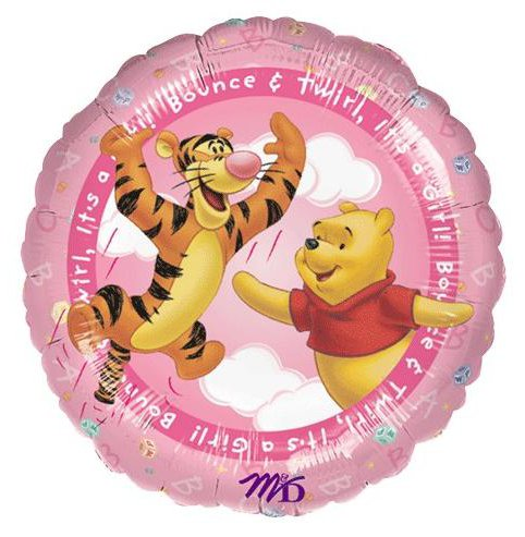 "18"" Winnie the Pooh It's A Girl! Balloon"