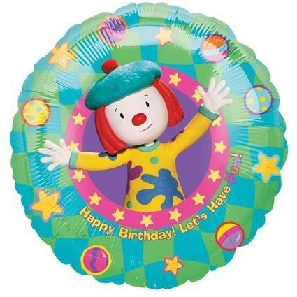 "18"" Jo Jo's Circus Birthday Fun Balloon"