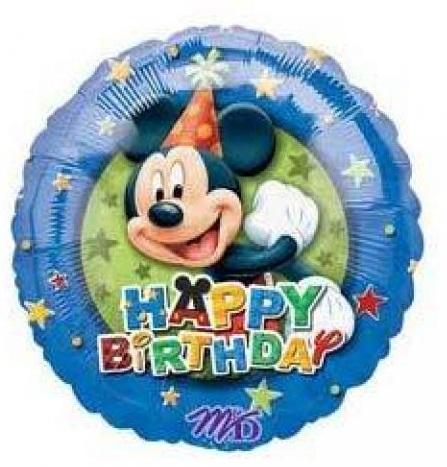 "18"" Mickey Mouse Birthday Stars Border"
