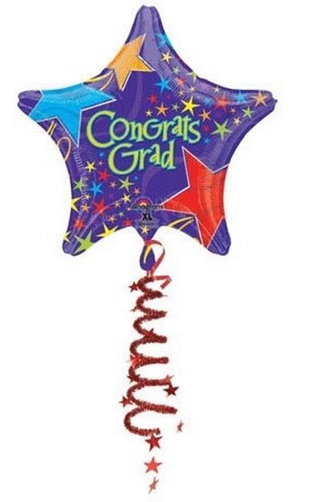 """44"""" Congrats Grad Coil Tail"""