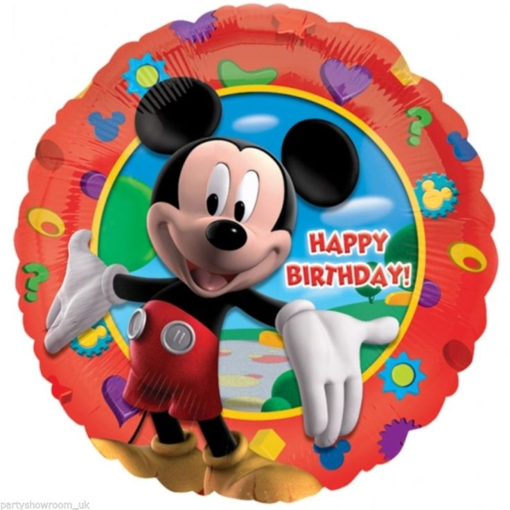 "18"" Mickey's Clubhouse Happy Birthday"